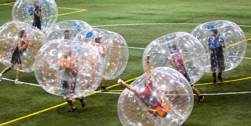 Bubble Football - Centre communautaire de loisir Sherbrooke