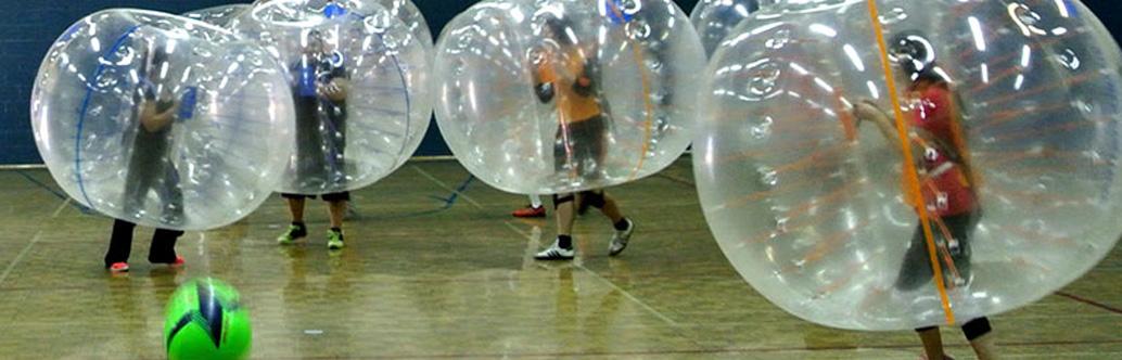 Jeu libre partout en Estrie - Bubble Football - Centre communautaire de loisir Sherbrooke