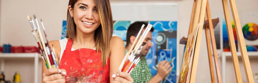 Voir les activités de la programmation adulte - Arts - Centre communautaire de loisir Sherbrooke