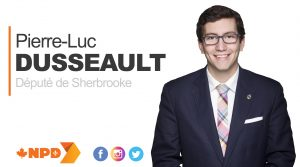 Pierre-Luc Dusseault - Partenaire du Centre Multi Loisirs Sherbrooke